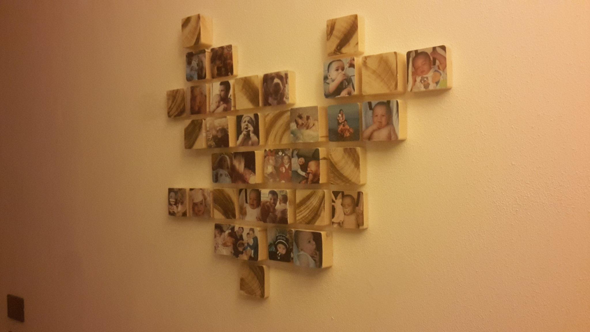 come riempire un intero muro con le vostre foto