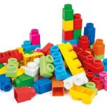 Mattoncini lego – Giochi per bambini dai 6 mesi