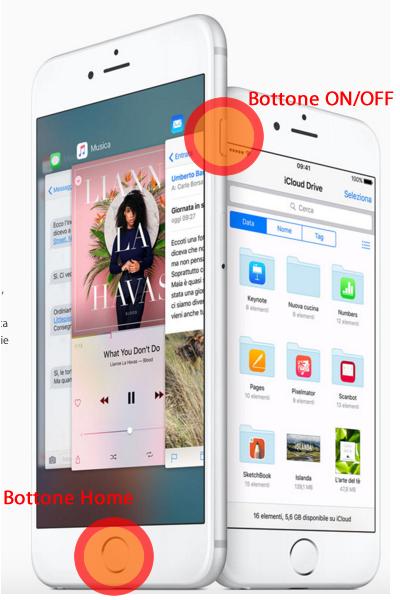 screenshot con iphone
