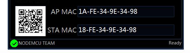 Conferma flash ESP8266Flasher