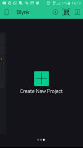 Blynk - creiamo un nuovo progetto