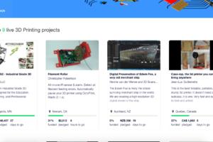 stampanti 3d su kickstarter