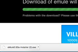 Emule per windows 8 il file scaricato