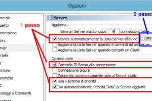 Server emule come aggiornare la lista server semplicemente