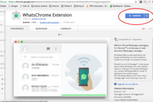 WhatsChrome estensione per chrome