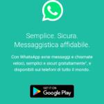 Come si scarica whatsapp sul proprio cellulare.