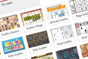 Sudoku: un sito che decine di varianti di gioco e schemi