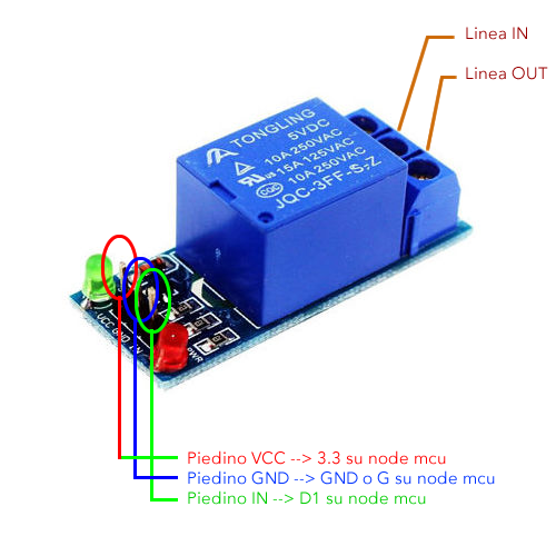 accendere una lampadina con il cellulare il collegamento relay.jpg
