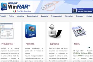 winrar download: il sito ufficiale italiano