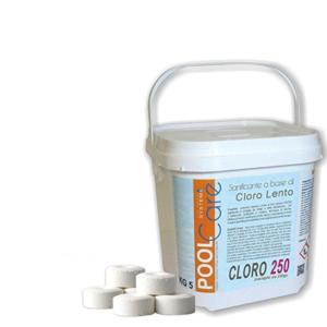 cloro per piscina - pastiglie