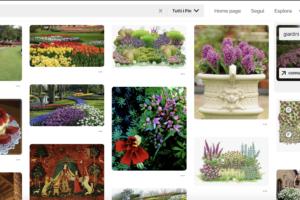 idee su pinterest - aiuole fiorite